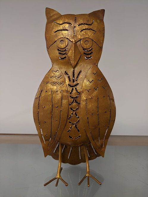 Large candle holder in form of an Owl