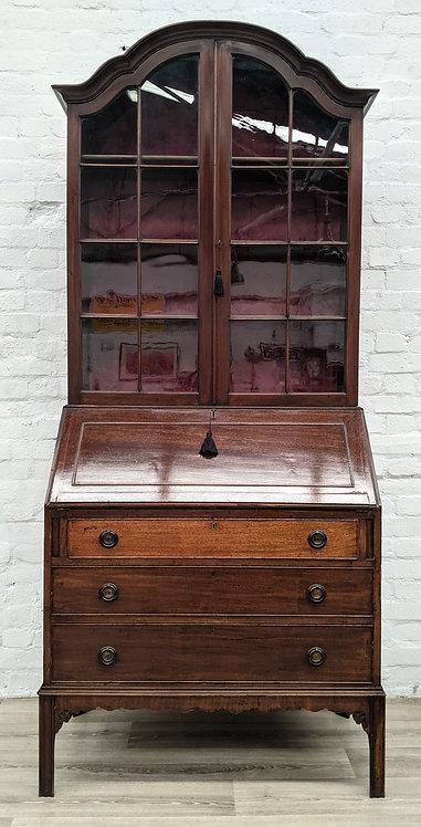 Writing Bureau With Bookcase