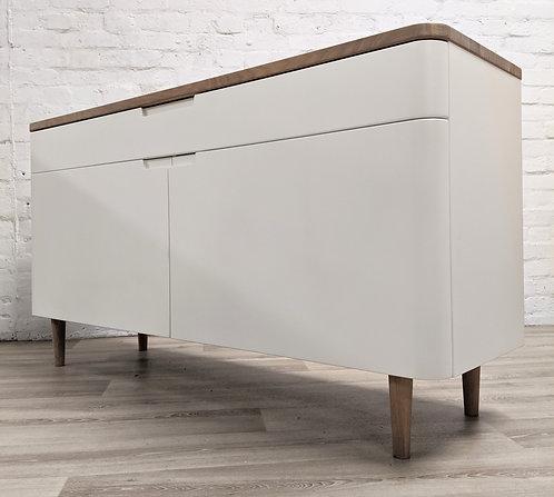 Ebbe Gehl for John Lewis Mira Sideboard, White/Oak