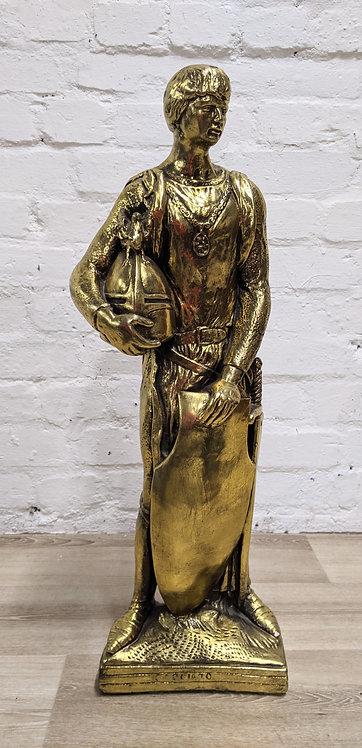 Vintage Gilt Statue
