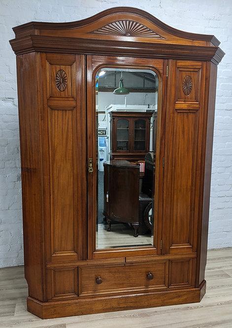 Victorian Corner Wardrobe