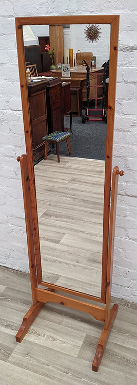 Pine Cheval Mirror