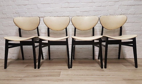 Four G plan Butterfly Dining Chairs