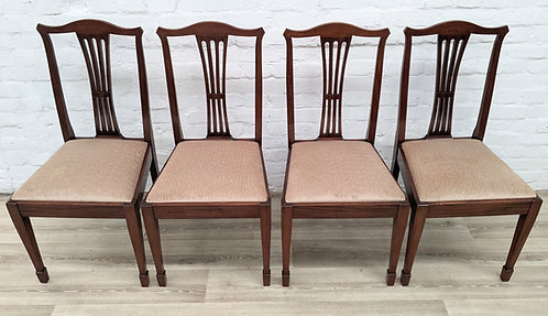 Four Regency Style Dining Chairs