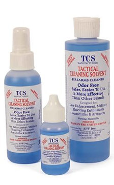 TCS Tactical Cleaning Solvent – Step 1