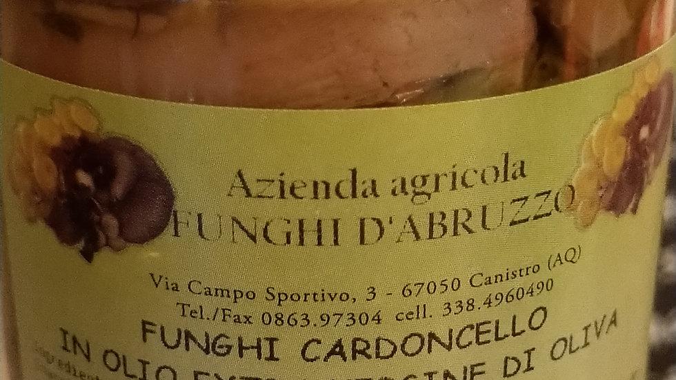 champignons cardoncello à l'huile d'olive extra vierge 200 gr