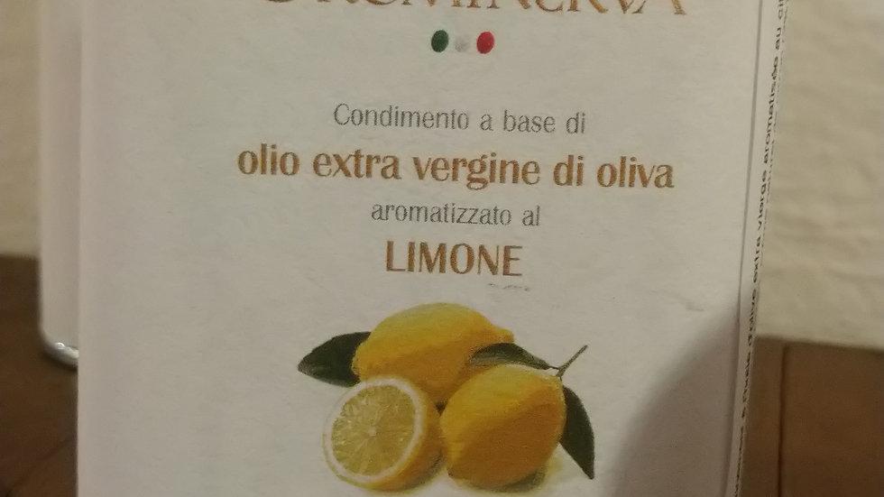 Huile d'oliveextra vierge aromatisé au citron
