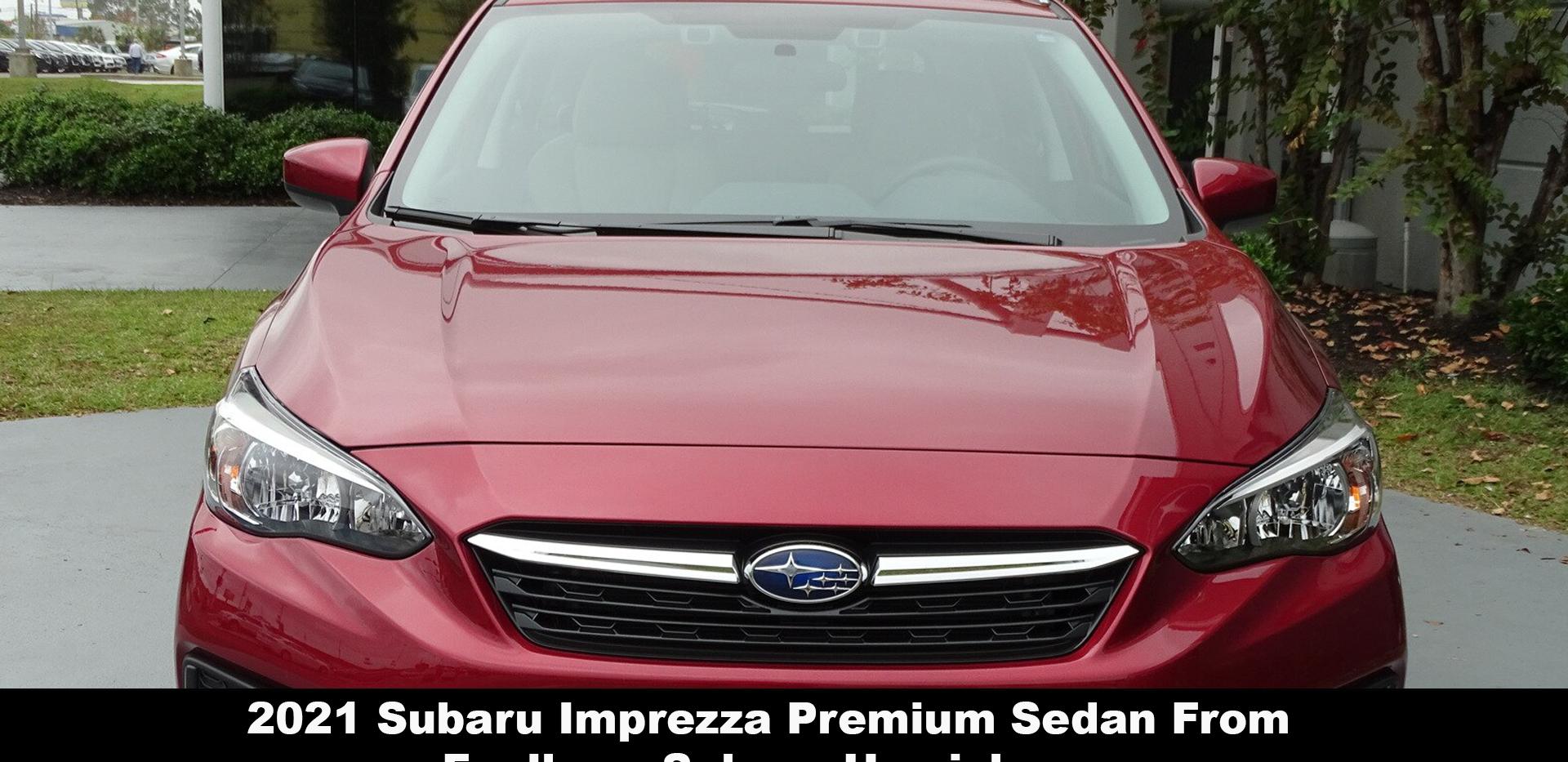 2021 Subaru Imprezza Premium Sedan