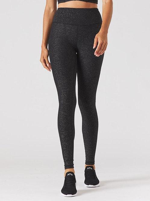 Glyder Sultry Legging - Black/Gold Shimmer