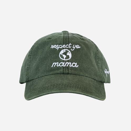 Uptown Hippie - Respect Yo Mama Dad Hat