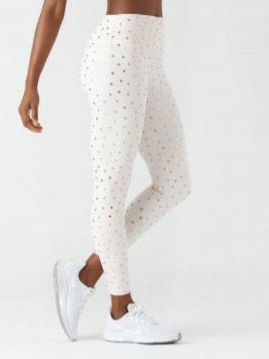 Glyder High Power Legging Soft Blush Triangle Print