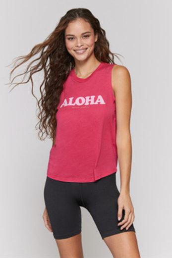 Spiritual Gangster Aloha Muscle Tank