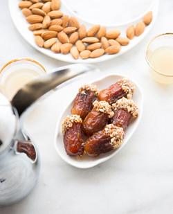 Caramel Dates with Hazelnut Splitter