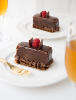 Choco-Raspberry Cake from Caramel