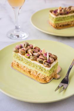 Bashawat Pistachio Cake by Caramel