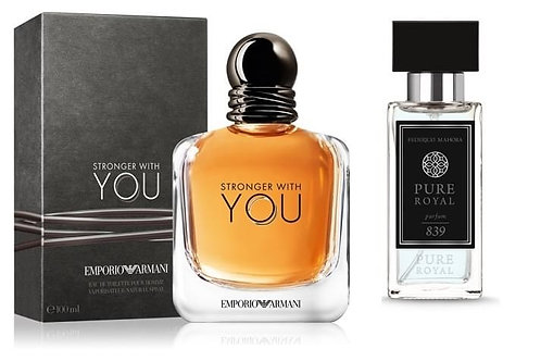 FM Perfume - 839 (Inspired by Emporio Armani Stronger with you)