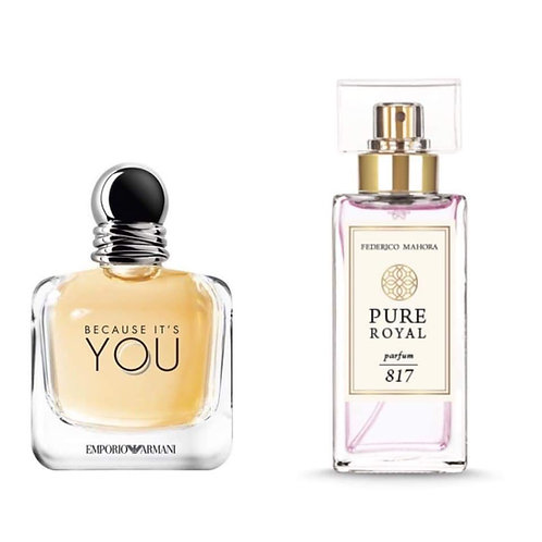 FM Perfume - 817 (Inspired by Emporio Armani Because It's You)