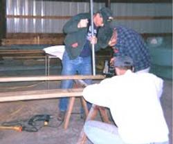 Kiwanis building ramp