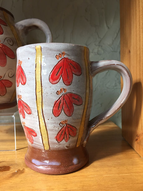 Flower Mug by Mary Ervin