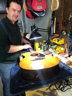 Robert Gucwa, Guitar Luthier
