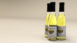 3D Render of Guacamole Oil