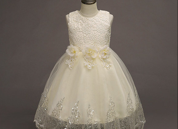 Bridesmaid Flower Girl Princess Dress