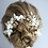 Thumbnail: Bridal Hair Combs & Pins Clay Flower Set