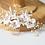 Thumbnail: Sweet Bridal Hair Comb Jasmine Flowers Bridal hair Pieces