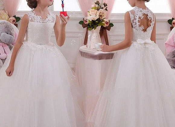 Brides Flower Girls Dress Luxury