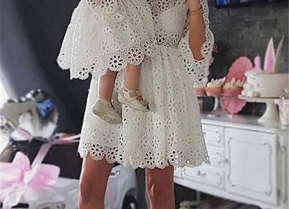 Mother N Daughter Floral Lace Dress