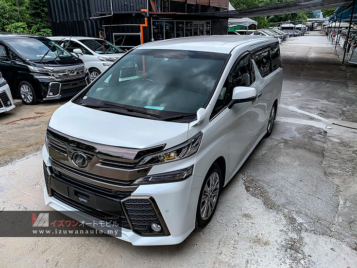 2016 Toyota Vellfire 2.5 ZA GOLDEN EYES