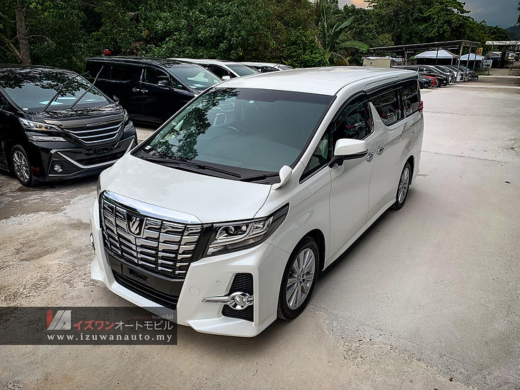 2015 Toyota Alphard 2.5S A Package