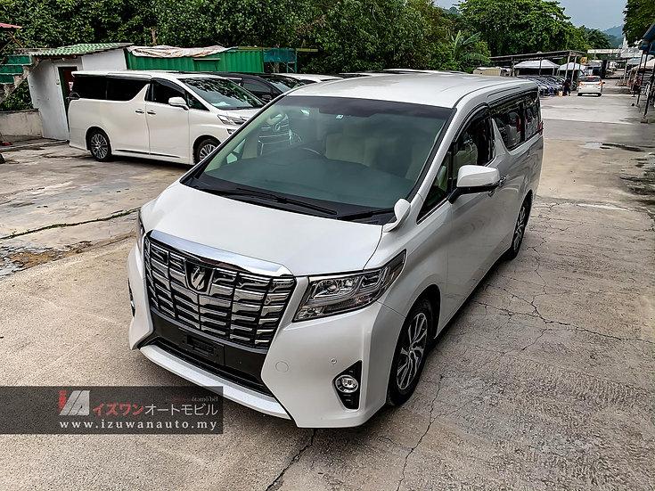 2015 Toyota Alphard 2.5 X 8 Seater