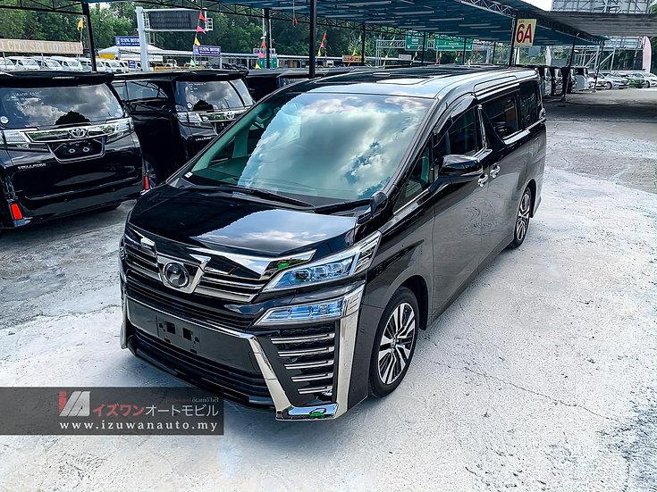 2018 Toyota Vellfire 2.5 ZG Edition