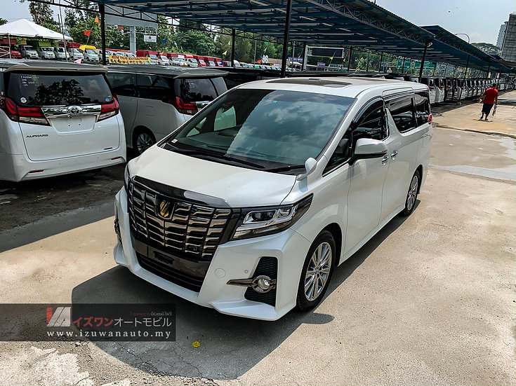 2016 Toyota Alphard 2.5S A Package Type Black