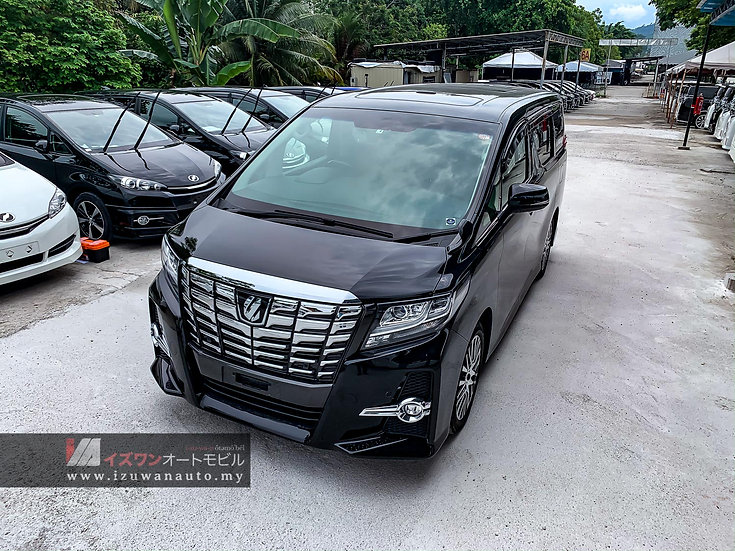 2017 Toyota Alphard 2.5S C Package