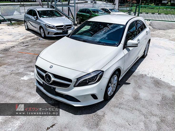 2016 Mercedes Benz A180 Facelift