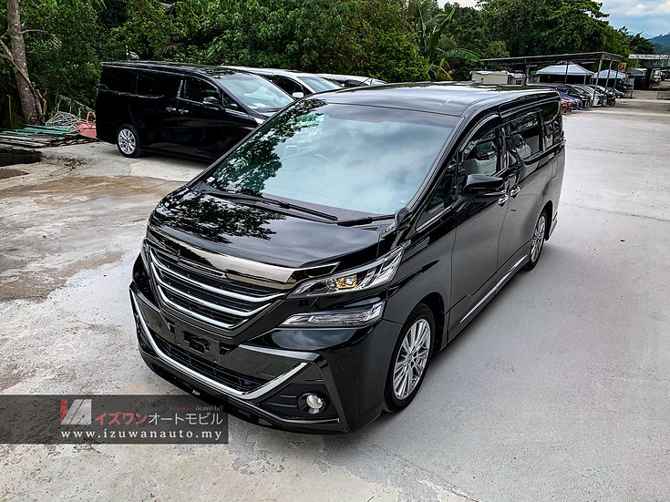2016 Toyota Vellfire 2.5 ZA GOLDEN EYES MODELISTA