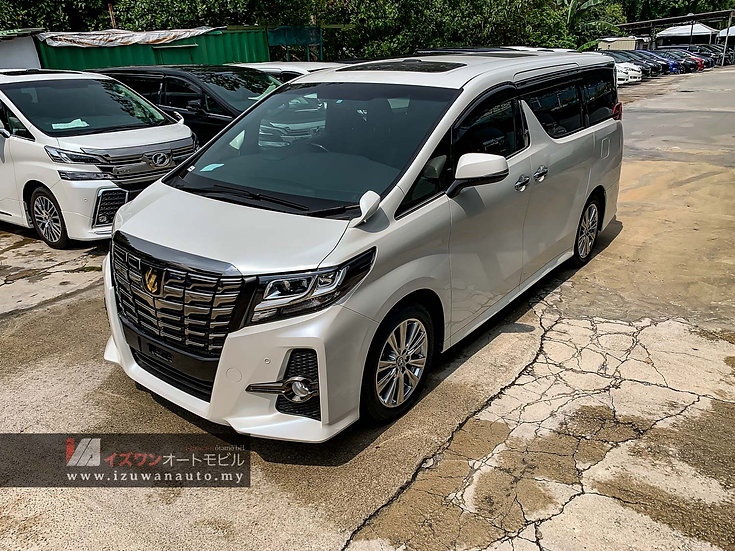 2016 Toyota Alphard 2.5S A Package