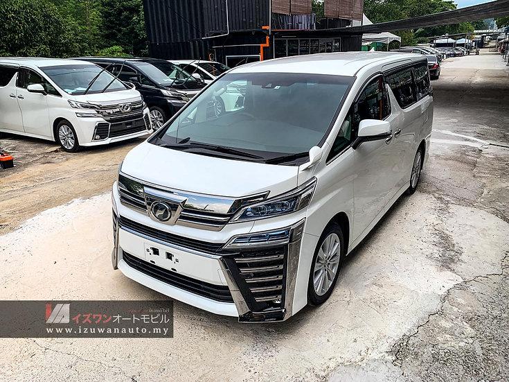 2018 Toyota Vellfire 2.5 ZA