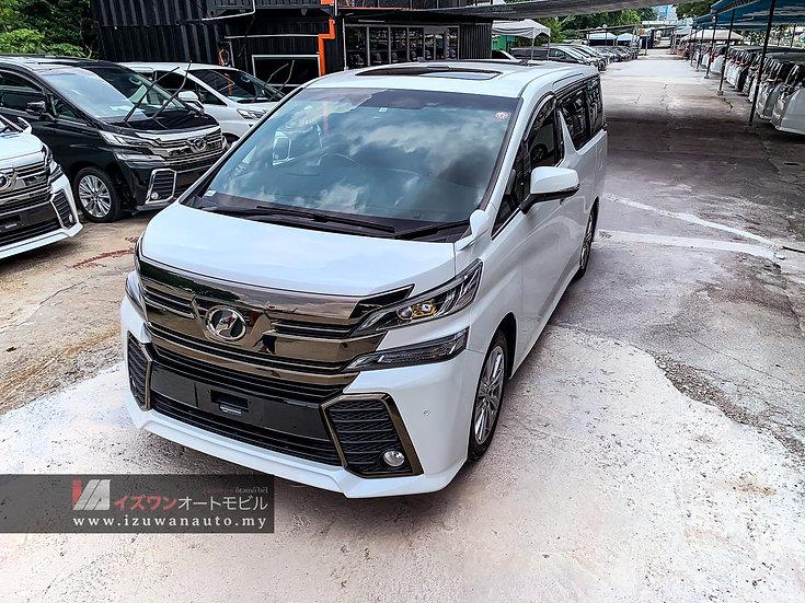 2016 Toyota Vellfire 2.5 ZA GOLDEN EYES