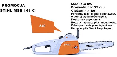 Pilarka Elektryczna STIHL MSE 141 C , PMM3