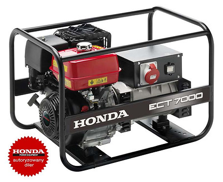 Agregat Honda ECT7000FGV (7,0kVA 77kg 97dB(A))