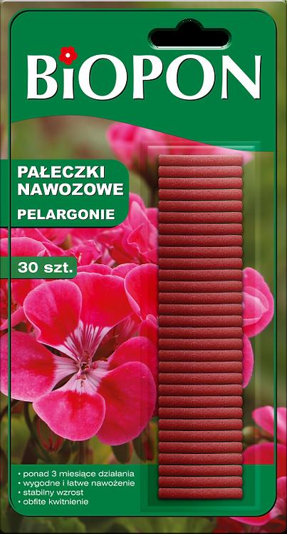 BIOPON pałeczki nawozowe do pelargonii