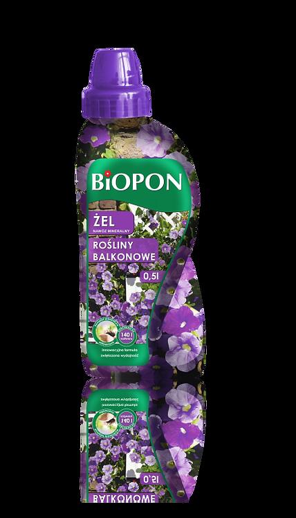 BIOPON ŻEL nawóz mineralny do roślin balkonowych