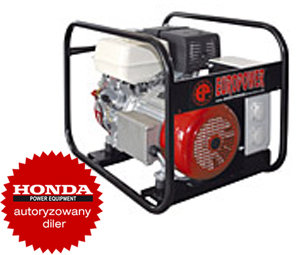 Agregat Honda EP4900IP54 (4,9kW 94kg 97dB(A))