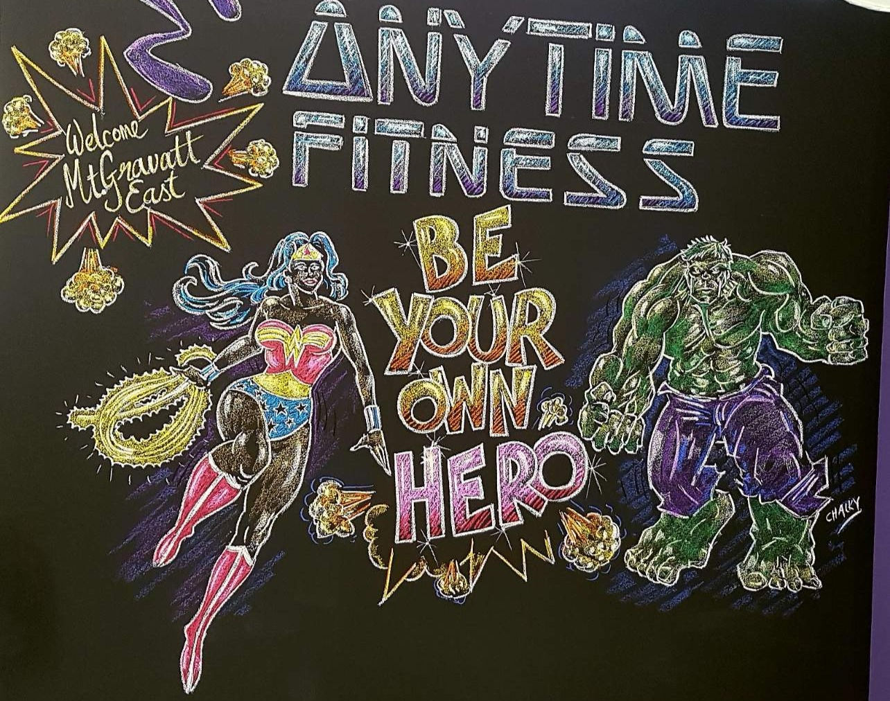 Anytime Fitness - Be Your Own Hero