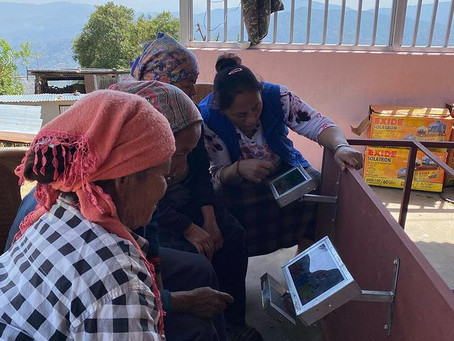 Joining hands to bring societal change and overcome the digital divide in the rural parts of Nepal