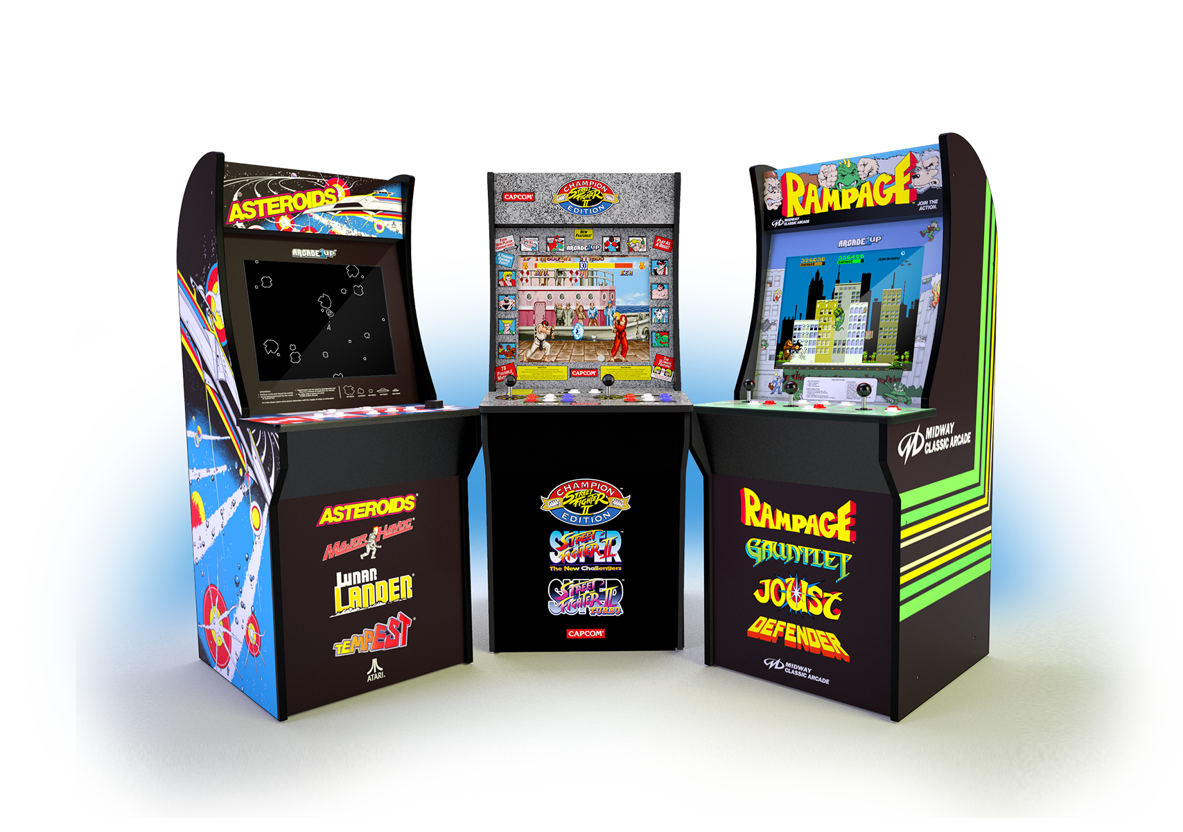 Arcade1Up: Classic Arcade Games For The Home