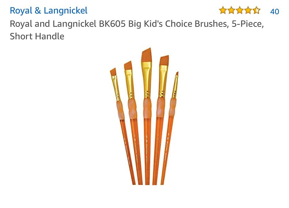 angled brushes